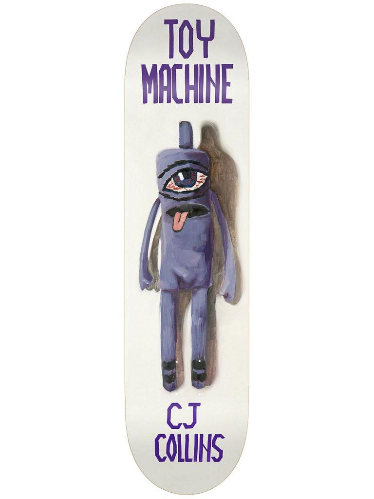 """Toy Machine Doll Series 7.75"""" Skateboard Deck collins kaufen"""