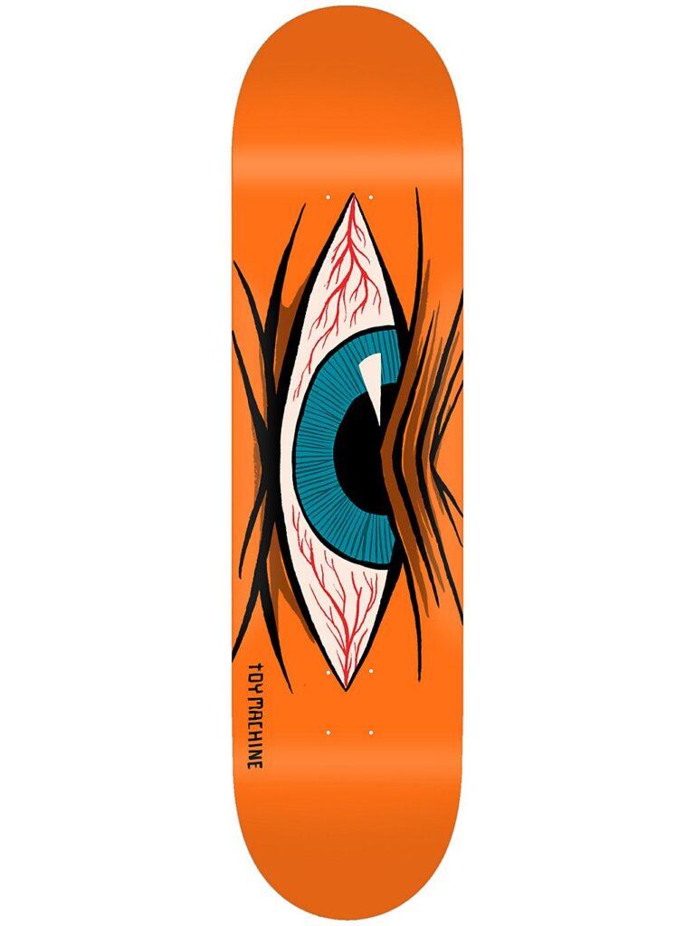 """Toy Machine Mad Eye 8.0"""" Skateboard Deck orange kaufen"""