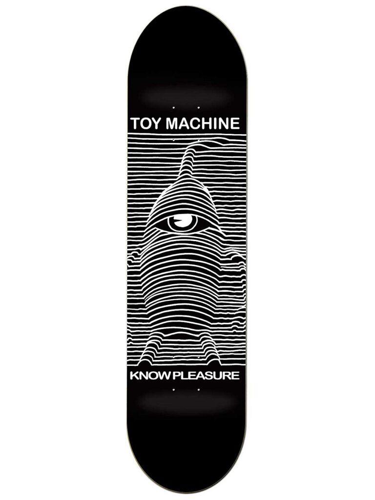 """Toy Machine Toy Division 8"""" Skateboard Deck black kaufen"""