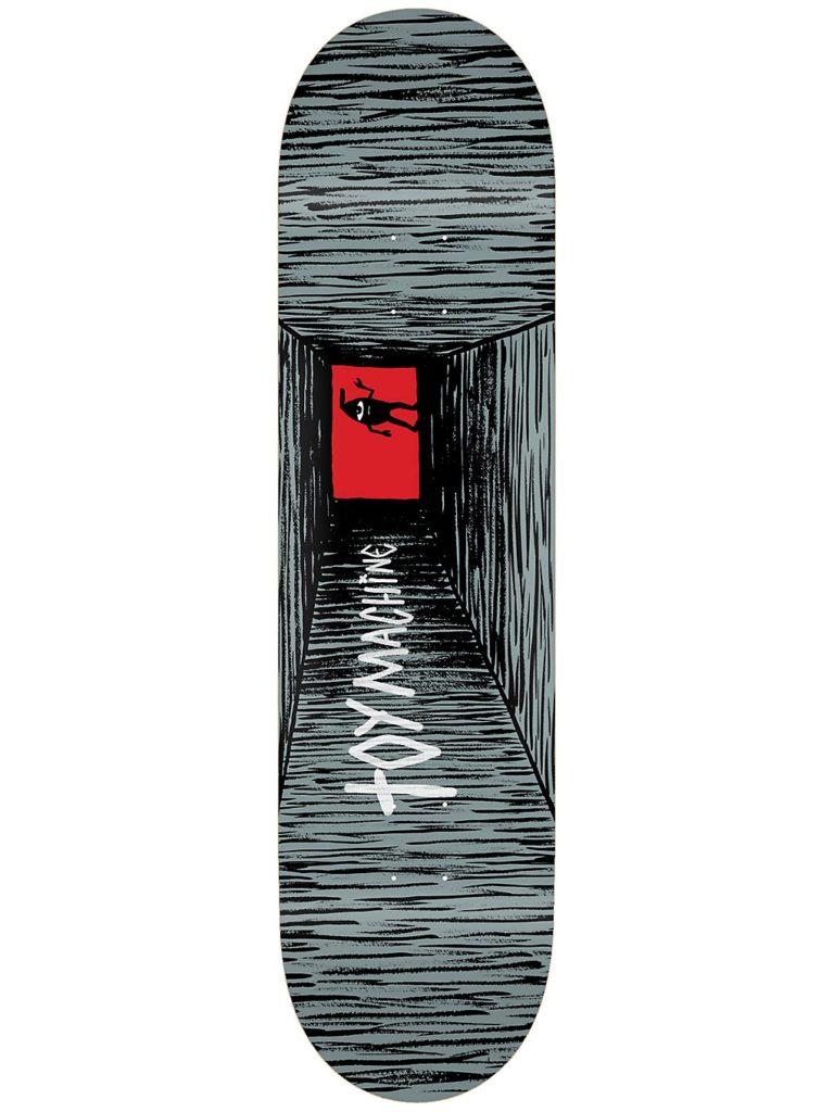 """Toy Machine Tunnel 8.25"""" Skateboard Deck grey / black kaufen"""