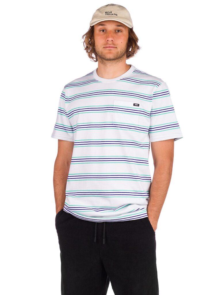 Vans Chaparral Stripe T-Shirt white kaufen