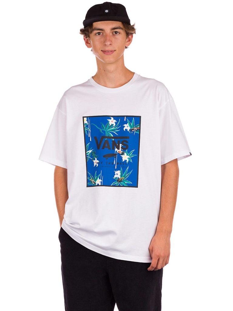 Vans Classic Print Box T-Shirt white / dart floral kaufen