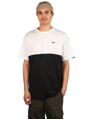 Vans Colorblock T-Shirt black / white kaufen