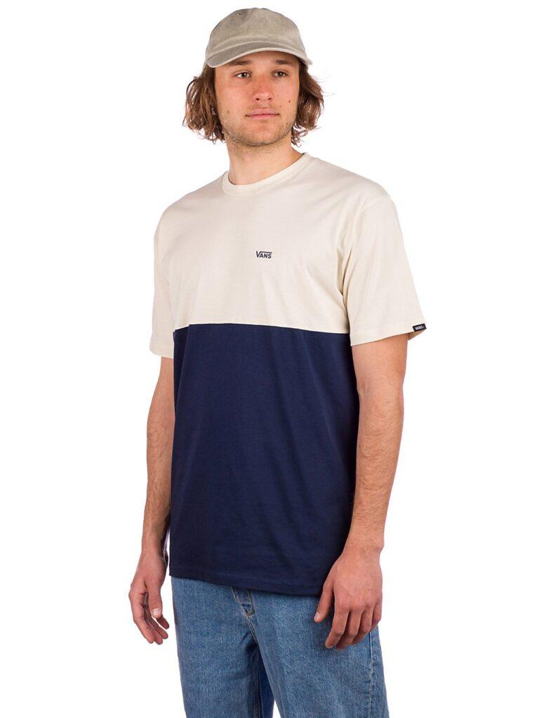 Vans Colorblock T-Shirt dress blues / seed pearl kaufen