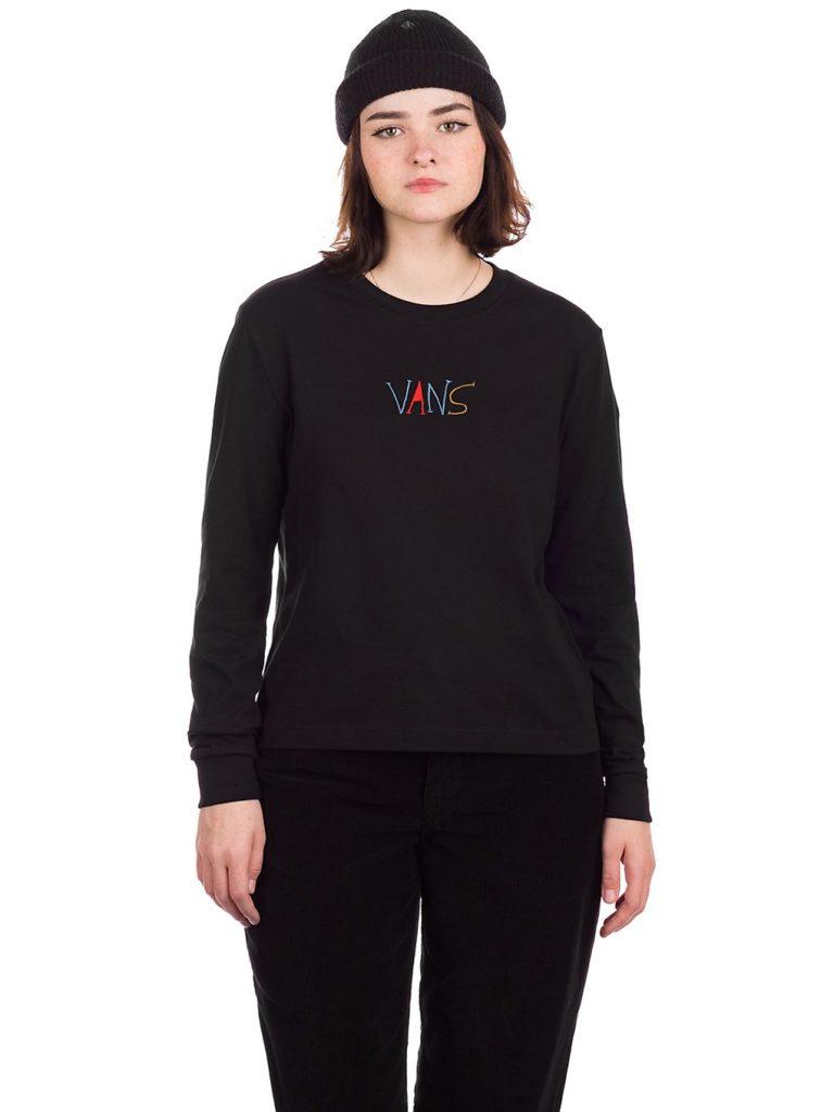Vans Hanna Scott Bf Long Sleeve T-Shirt black kaufen