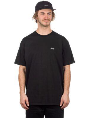 Vans Left Chest Logo T-Shirt black / white kaufen