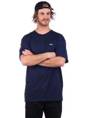 Vans Left Chest Logo T-Shirt navy / white kaufen