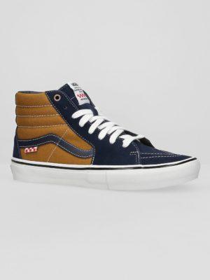 Vans Reynolds Skate Sk8-Hi Skate Shoes navy / golden brown kaufen