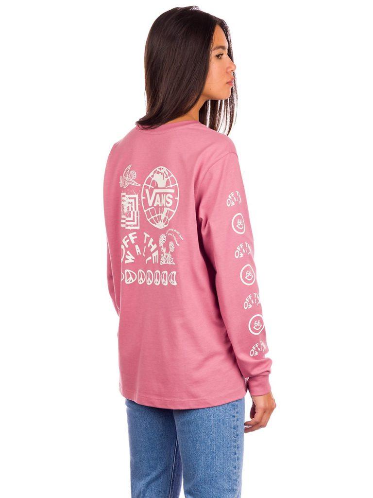 Vans Silent Mode Long Sleeve T-Shirt mesa rose kaufen