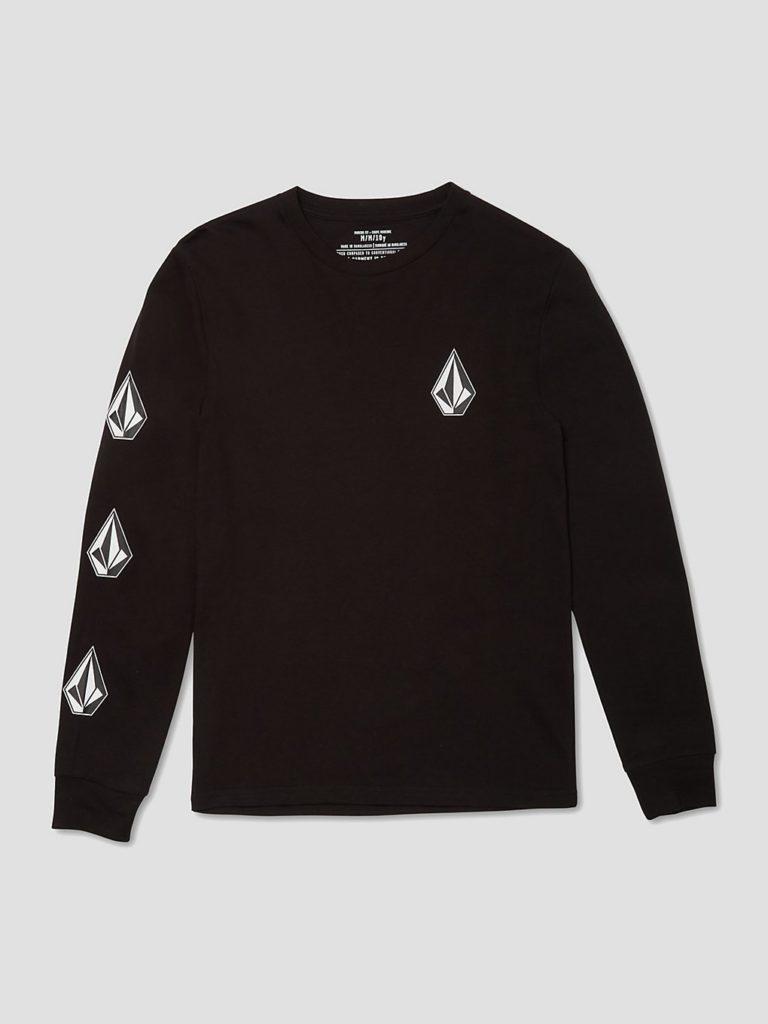 Volcom Iconic Stone Basic Longsleeve T-Shirt black kaufen