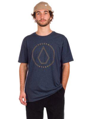 Volcom Rim Stone Heather T-Shirt navy kaufen