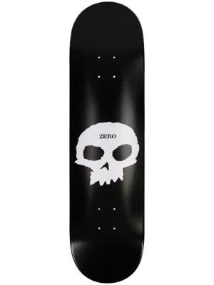 "Zero Single Skull 8.0"" Skateboard Deck black white kaufen"