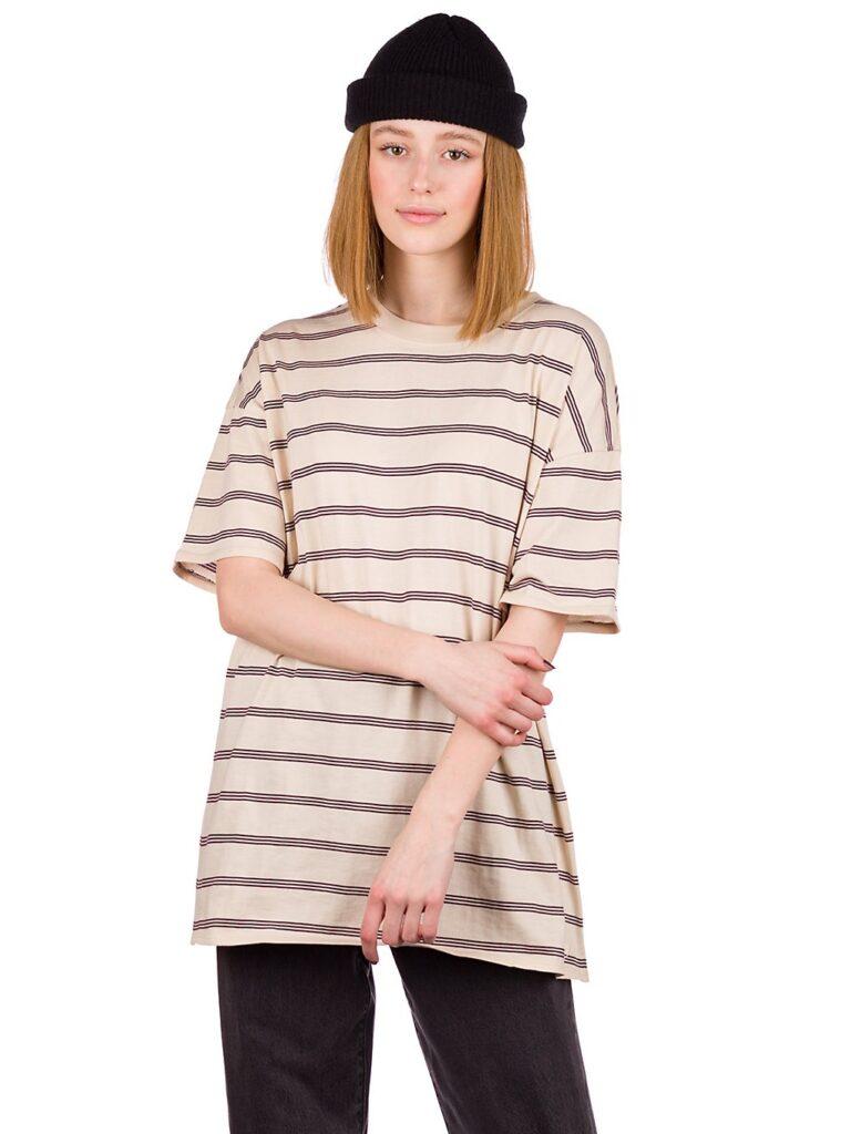 Zine Maya T-Shirt stripe oatmeal kaufen
